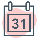 Calendar of Events quick link icon