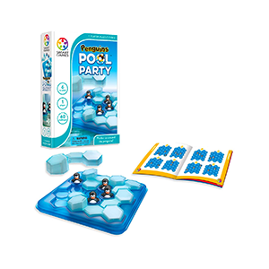 Penguins Pool Party game
