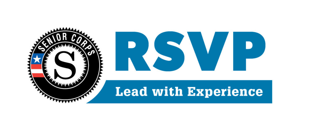 Retired Senior Volunteer Program (RSVP) logo.