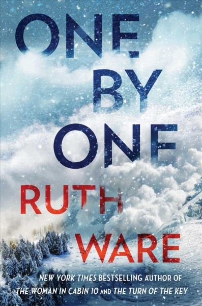 One by One Ruth Ware book cover