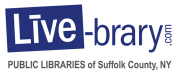 Live-brary.com Public Libraries of Suffolk County, NY logo